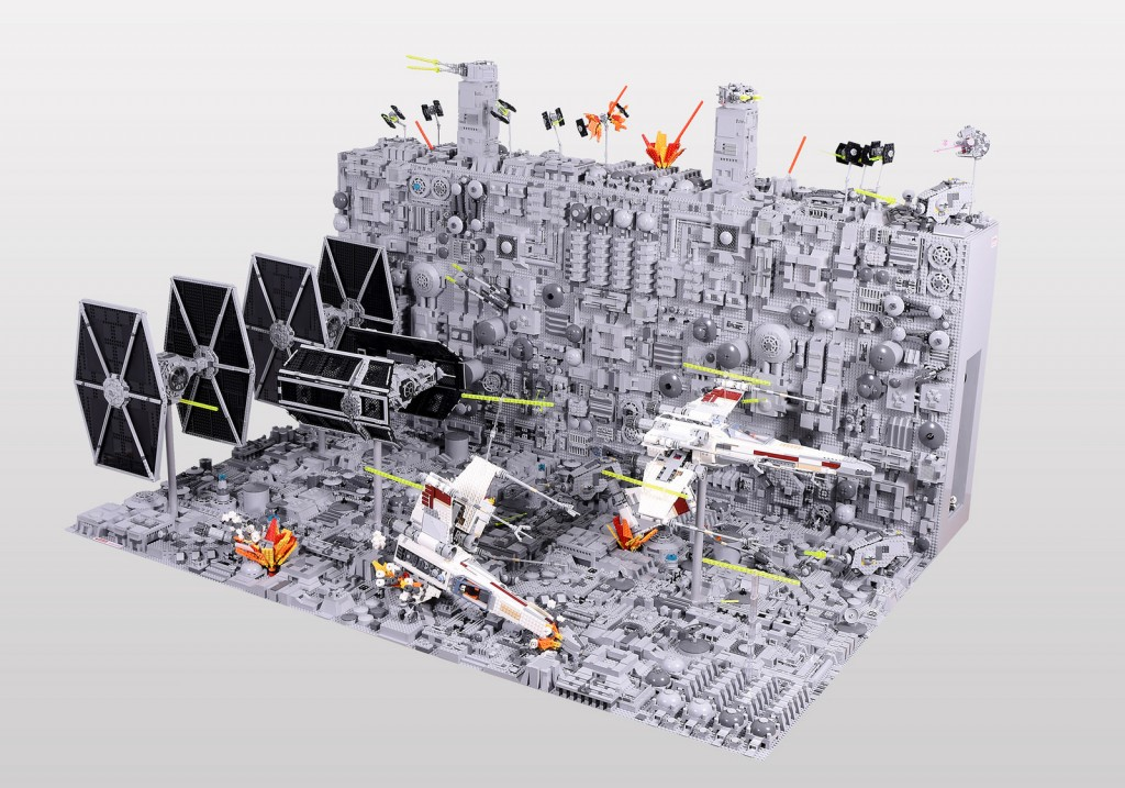 this iconic star wars scene looks epic with lego ucs sets southern bricks. Black Bedroom Furniture Sets. Home Design Ideas