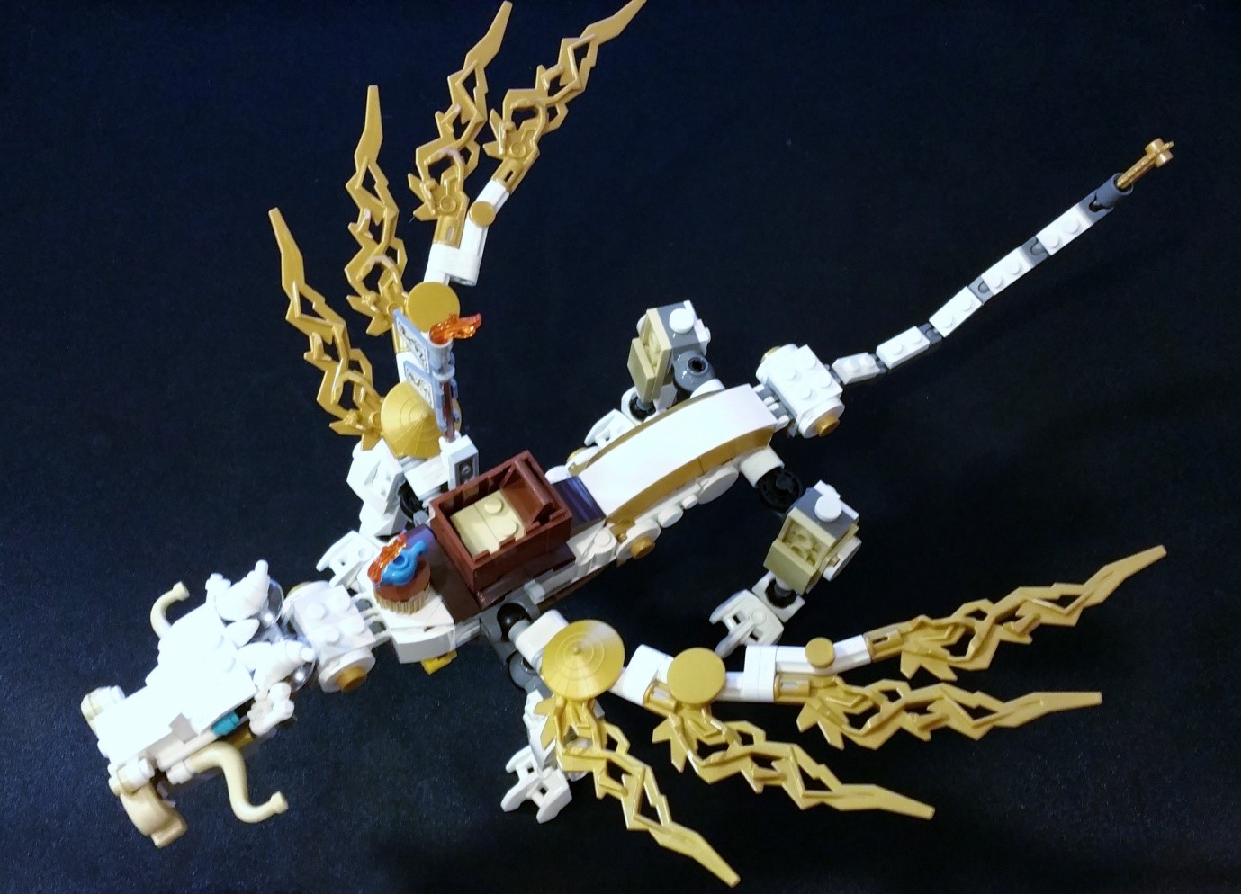 Master Wu's Dragon - Dragon, top view